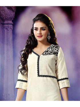 Pack of 3 Viva N Diva Emboridered Khadi Cotton Kurti -vna01