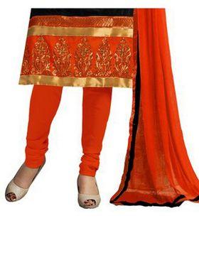 Fabfiza Embroidered Cotton Semi Stitched Dress Material_FB-6576