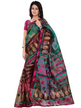 Florence Bhagalpuri silk Printed  Sarees FL-10756-C