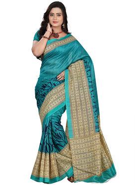 Florence Bhagalpuri silk Printed  Sarees FL-10948