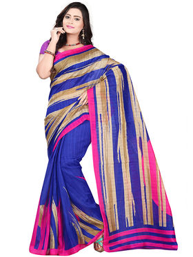 Florence Bhagalpuri silk Printed  Sarees FL-10955