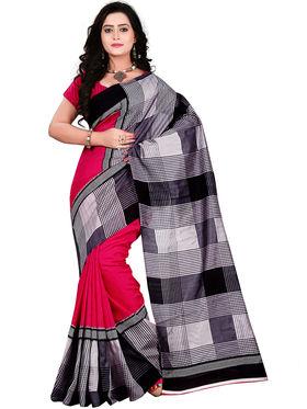 Florence Bhagalpuri silk Printed  Sarees FL-10994