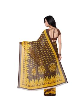 Florence Printed Faux Georgette Sarees -FL-11223