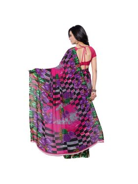 Florence Printed Faux Georgette Sarees -FL-11233