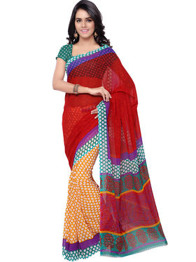 Florence Printed Faux Georgette Sarees -FL-11241