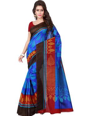 Florence Printed Bhagalpuri Silk Sarees FL-11683