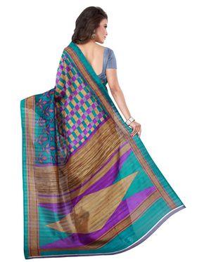 Florence Printed Bhagalpuri Silk Sarees FL-11690
