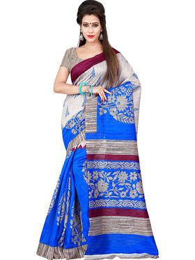 Florence Printed Bhagalpuri Silk Sarees FL-11709