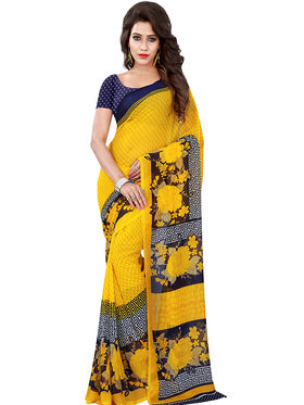 Florence Printed Faux Georgette Sarees FL-11729