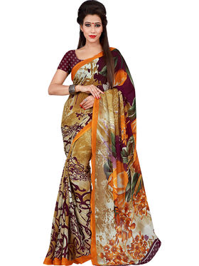 Florence Printed Faux Georgette Sarees FL-11745