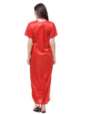 Pack of 6 Fasense Satin Plain Nightwear - DP115 C
