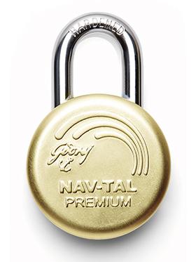 Godrej Nav-tal Premium Deluxe Hardened with 3 Keys