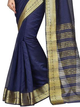 Shonaya Woven Work Banarasi Art SIlk Unstitched Sarees -Hikbr-Banarsi-5-N.Blue