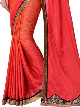 Shonaya Embroidered Jacquard Silk Sarees -Hivl2-63011