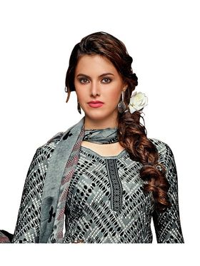 Khushali Fashion Crepe Printed Dress Material -Hnyfdzl35001