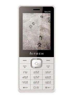 Hitech Xplay 215 2.4-inch Dual Sim Mobile - White