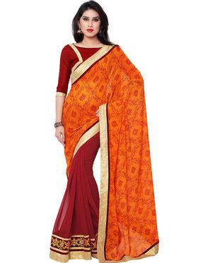 Indian Women Georgette Saree -IC40414