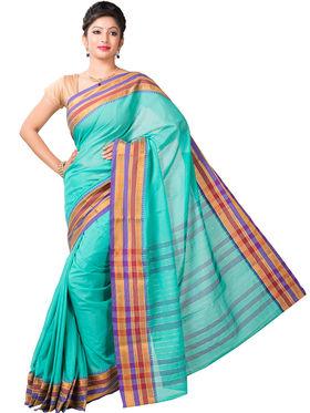 Ishin Cotton Printed Saree - Multicolor - SNGM-2442