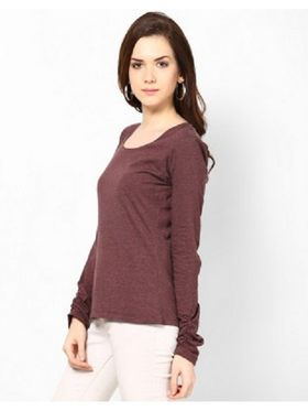 Kaxiaa Cotton S Jersey Plain Top -K-704A