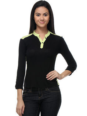 Kaxiaa Viscose Jersey Solid Top -K-TO-21062A