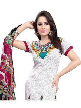 Khushali Fashion Crepe Printed Dress Material -Kpplk10006