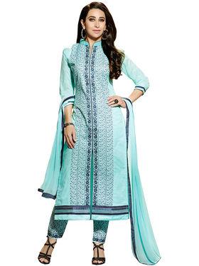 Khushali Fashion Cotton Embroidered Unstitched Dress Material -KRSH4358