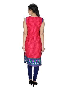 Sai Arisha Solid Cotton Kurti -ars52