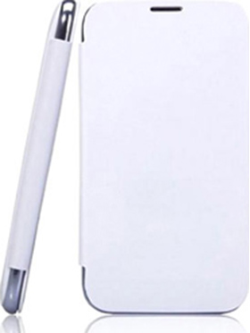 Branded Flip Cover for Karbonn Titanium S1   White available at Naaptol for Rs.310