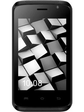 Karbonn Alfa A110 3.5-Inch Dual Sim Smartphone - Black&Champagne