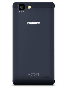 Karbonn Titanium Dazzle2 S202- Blue 5 Inch FWVGA IPS, Quad Core, 1GB RAM, 8GB ROM, 3G Dual Sim Mobile