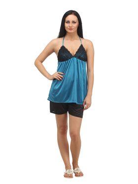 Set of 4 Klamotten Satin Solid Nightwear - X04-06-14-N66