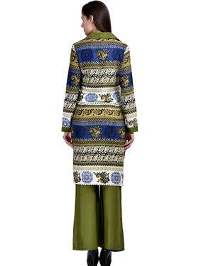 Arisha Rayon Printed Stitched Kurti Palazzo Set Krt-Plzo-13
