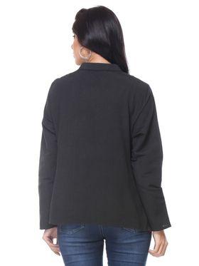 Lavennder Shantoon Embroided Summer Jacket -LJ-24098