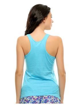 Clovia Cotton Graphic Print T-Shirt -LT0030P03