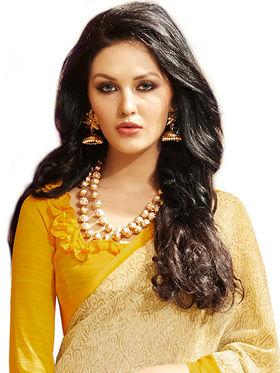 Khushali Fashion Printed Georgette Saree -kf02