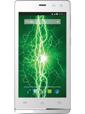 Lava Iris Fuel 50 Quad Core processor with Android Lollipop update, 8 GB ROM and 1 GB RAM - White