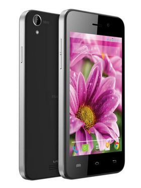Lava Iris X1 Atom update to Android Lollipop, Quad Core 3G Smartphone - Black&Silver