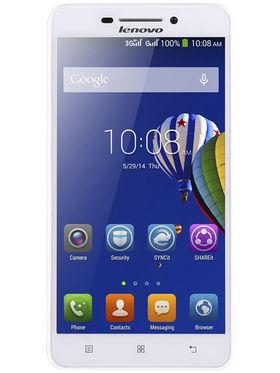 Lenovo A5000 5 Inch HD Display, Quad Core, Android Kitkat, 1GB RAM, 8GB ROM, 4000mAh Battery, 3G, Dual Sim Mobile- White