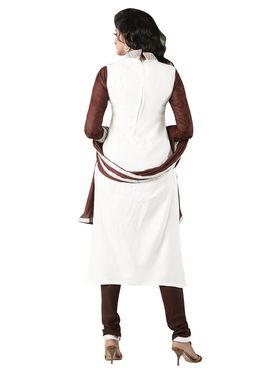 Khushali Fashion Glaze Cotton Embroidered Dress Material -Mcrdmhk808