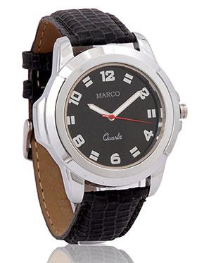 Marco Wrist Watch for Men - Black_MR-GR022-BLK-BLK