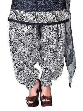 Khushali Fashion Crepe Printed Unstitched Dress Material -NKFPT99010