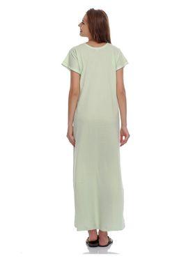 Clovia Cotton Blend Solid Nightsuit -NS0397P11