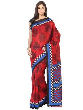 Branded Cotton Bhagalpuri Sarees -Pcsrsd64