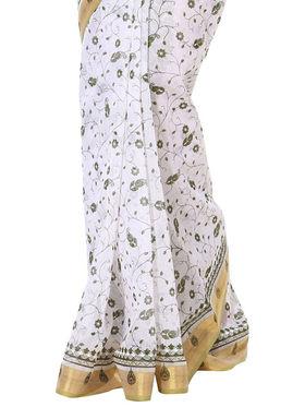 Branded Cotton Gadwal Sarees -Pcsrsd75