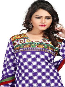 Khushali Fashion Crepe  Printed Unstitched Dress Material -PFCS505