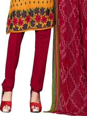Khushali Fashion Crepe  Printed Unstitched Dress Material -PFCS508