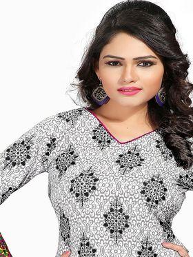 Khushali Fashion Crepe  Printed Unstitched Dress Material -PFCS514