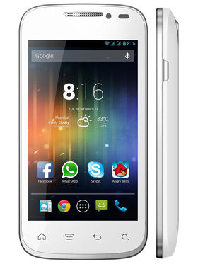 Xccess Pulse (GSM + CDMA) 3G SmartPhone - White