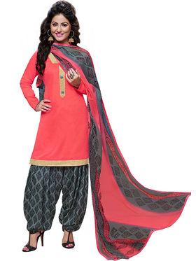 Khushali Fashion Cotton Self Unstitched Dress Material -RPSP1010005