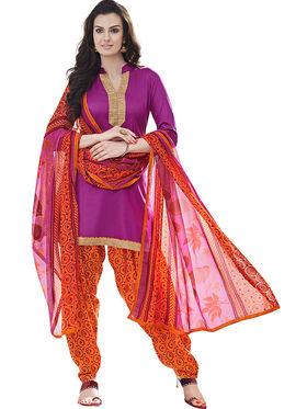 Khushali Fashion Cotton Self Unstitched Dress Material -RPSP99017